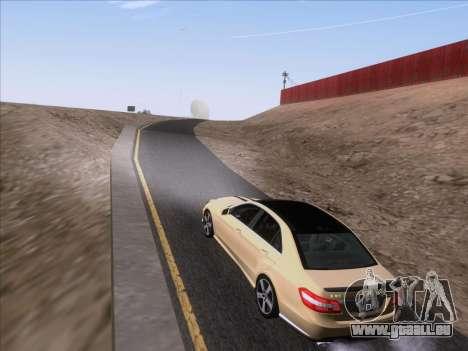 Mercedes-Benz E63 AMG 2011 Special Edition pour GTA San Andreas vue intérieure