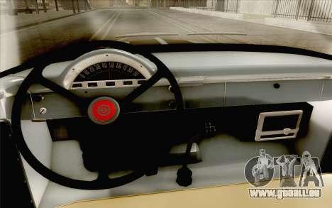 Ford F100 1956 pour GTA San Andreas vue arrière