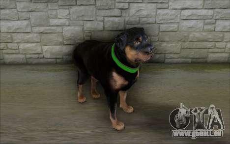 Rottweiler from GTA 5 pour GTA San Andreas