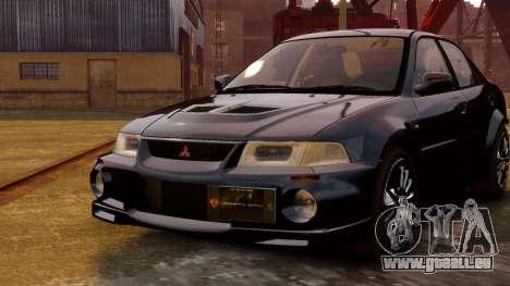 Mitsubishi Lancer Evolution VI GSR 1999 für GTA 4 hinten links Ansicht
