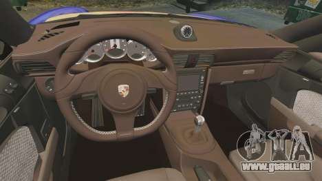Porsche 911 Sport Classic 2010 Red Bull pour GTA 4 est un côté