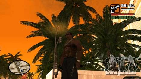 Halbautomatische Pistole für GTA San Andreas zweiten Screenshot