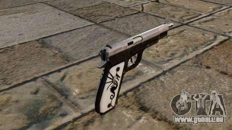 Mise à jour de pistolet CZ75 pour GTA 4 secondes d'écran