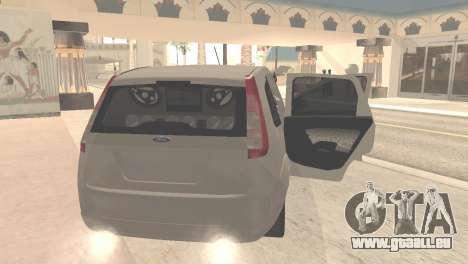 Ford Fiesta Rocam Edit pour GTA San Andreas vue de droite