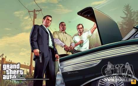 GTA V to SA: LoadScreens für GTA San Andreas achten Screenshot