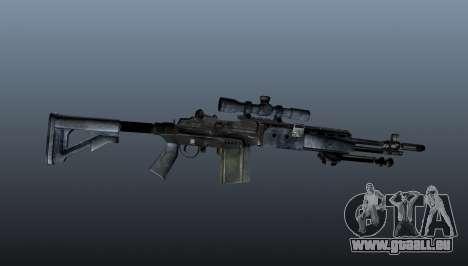 Mk14 M21 sniper rifle v2 pour GTA 4 troisième écran