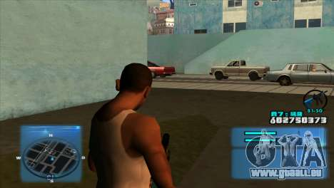 C-HUD Battlefield 3 für GTA San Andreas
