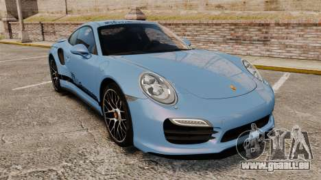 Porsche 911 Turbo 2014 [EPM] KW iSuspension pour GTA 4