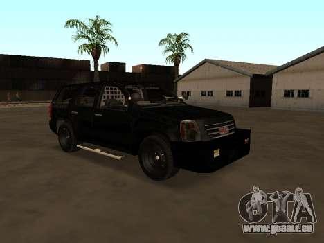 GMC Yukon ATTF für GTA San Andreas