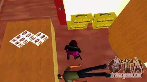 Outils d'atelier pour le quatrième écran GTA Vice City