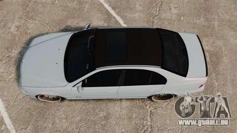 BMW M5 E39 2003 pour GTA 4 est un droit