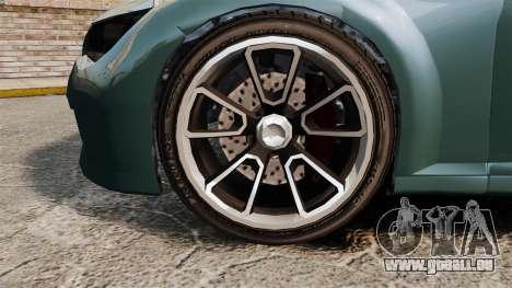 GTA V Zion XS Cabrio pour GTA 4 Vue arrière