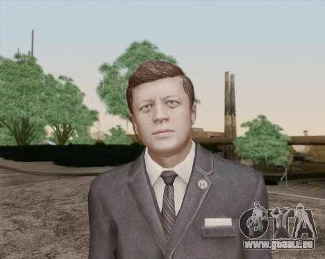 John Kennedy für GTA San Andreas dritten Screenshot