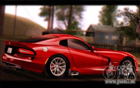 SRT Viper Autovista für GTA San Andreas rechten Ansicht