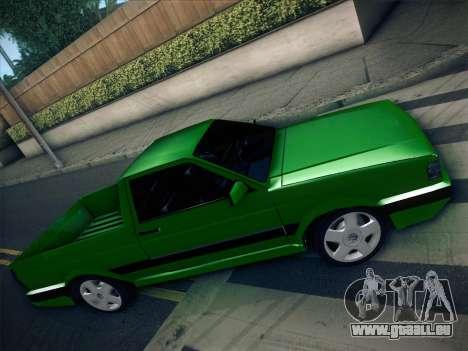 Volkswagen Saveiro 1994 für GTA San Andreas Seitenansicht