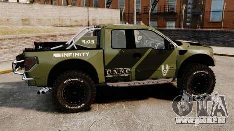 Ford F150 SVT 2011 Raptor Baja [EPM] pour GTA 4 est une gauche