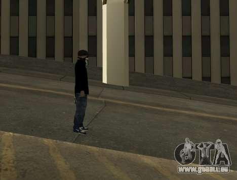 Vagos Skin Pack pour GTA San Andreas cinquième écran