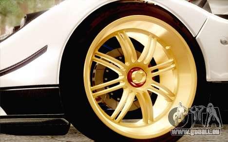 Pagani Zonda Cinque pour GTA San Andreas vue de côté