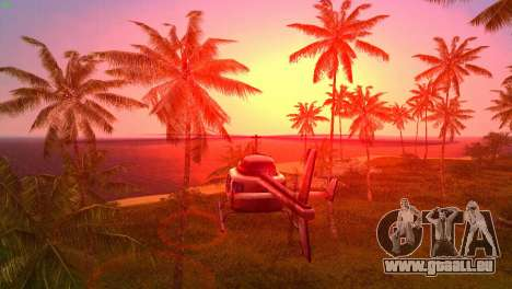 Sun effects pour GTA Vice City