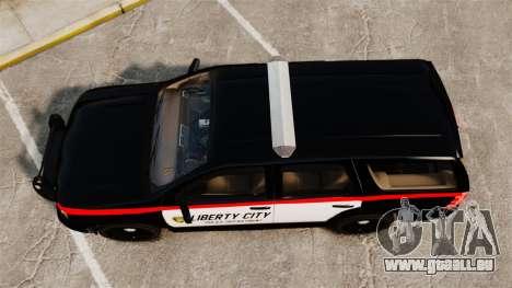 Chevrolet Tahoe 2008 LCPD STL-K Force [ELS] pour GTA 4 est un droit