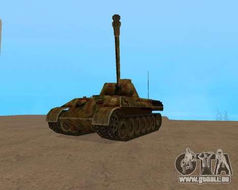 pz.kpfw v Panther für GTA San Andreas