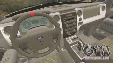 Ford F150 SVT 2011 Raptor Baja [EPM] pour GTA 4 est un côté