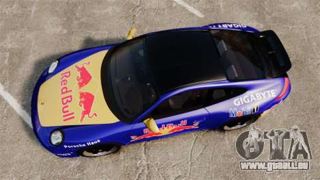 Porsche 911 Sport Classic 2010 Red Bull pour GTA 4 est un droit