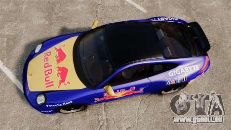 Porsche 911 Sport Classic 2010 Red Bull für GTA 4 rechte Ansicht