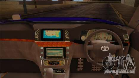 Toyota Land Cruiser 100VX pour GTA San Andreas vue de droite