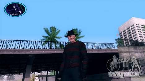 Freddy Krueger für GTA San Andreas her Screenshot