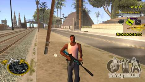 C-HUD Vagos Gang für GTA San Andreas dritten Screenshot