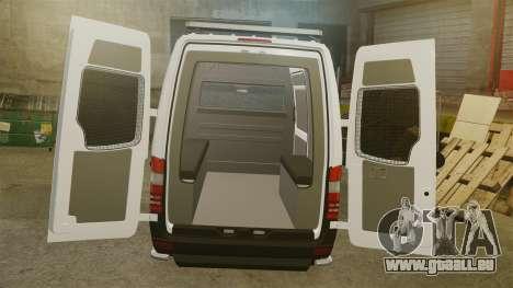 Mercedes-Benz Sprinter 2500 Prisoner Transport für GTA 4 Seitenansicht