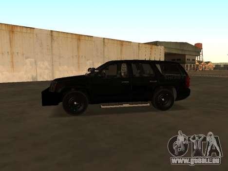 GMC Yukon ATTF für GTA San Andreas Rückansicht