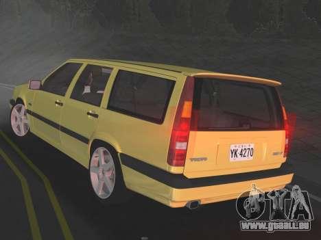 Volvo 850 R Estate für GTA Vice City rechten Ansicht