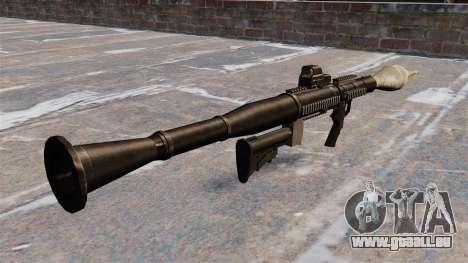 Panzerabwehr-Granatwerfer Airtronic USA21 für GTA 4 Sekunden Bildschirm