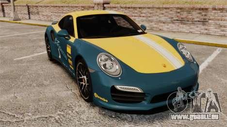 Porsche 911 Turbo 2014 [EPM] Alpinestars pour GTA 4