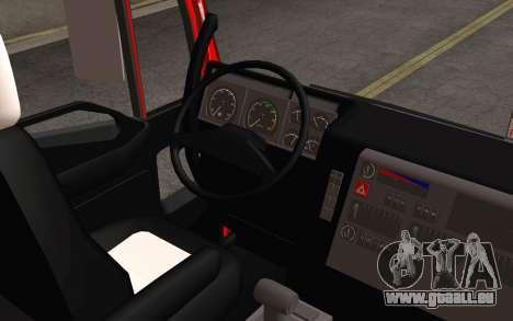 Iveco EuroTech 6x4 Doors für GTA San Andreas Innenansicht