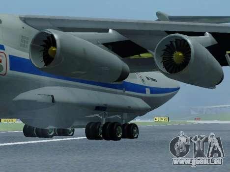 Il-76td v1.0 pour GTA San Andreas sur la vue arrière gauche