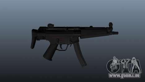 Pistolet mitrailleur HK MP5A5 pour GTA 4 troisième écran
