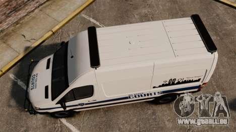 Mercedes-Benz Sprinter 2500 Prisoner Transport pour GTA 4 est un droit