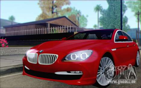 BMW 6 Gran Coupe v1.0 pour GTA San Andreas