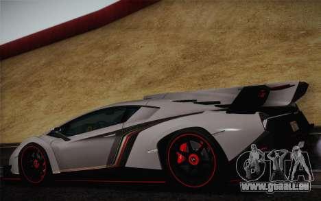 Lamborghini Veneno LP750-4 2013 pour GTA San Andreas vue de droite