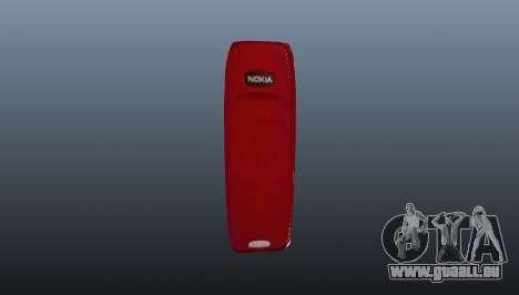 Exploding Nokia 3310 pour GTA 4 secondes d'écran