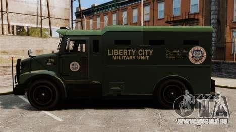 Military Enforcer für GTA 4 rechte Ansicht