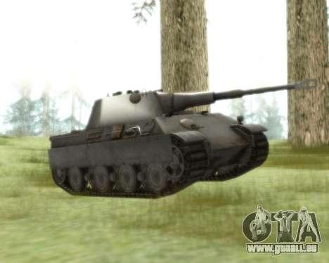 Pzkpfw V Panther II pour GTA San Andreas laissé vue