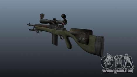 Fusil de sniper OSV-96 pour GTA 4 secondes d'écran