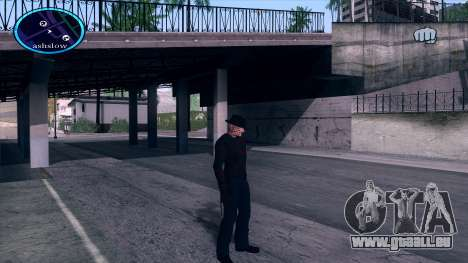Freddy Krueger pour GTA San Andreas deuxième écran