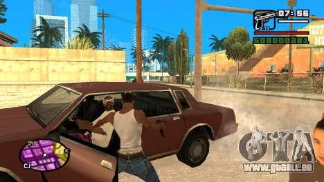 Halbautomatische Pistole für GTA San Andreas her Screenshot