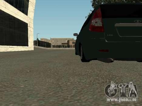 VAZ-2171 pour GTA San Andreas vue intérieure