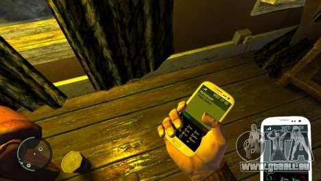 Samsung Galaxy S3 pour GTA 4